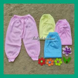 Celana panjang bayi warna polos Kid