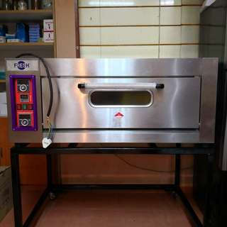 2 tray deck electric oven(negotiable)