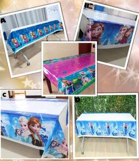 ❄️ Frozen Party supplies - Frozen tablecloth / table cover