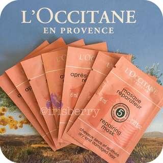 L'occitane Hair Care Travel Pack Set for Dry & Damaged Hair
