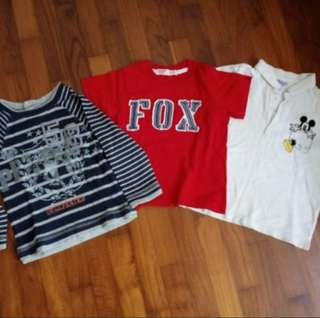Set of 3 Pumpkin Patch, Fox Kids, Disney boy clothes