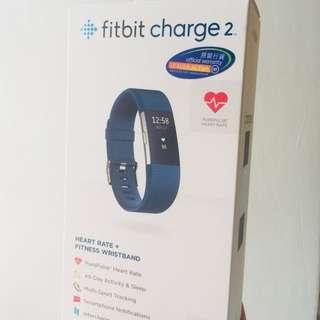 Fitbit Charge 2 心率追蹤及健康手環⌚️