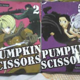 Pumpkin Scissors set