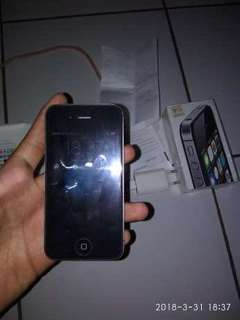 Iphone 4s 8gb black resmi