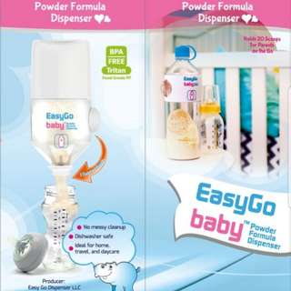 EasyGo baby powder formula dispenser
