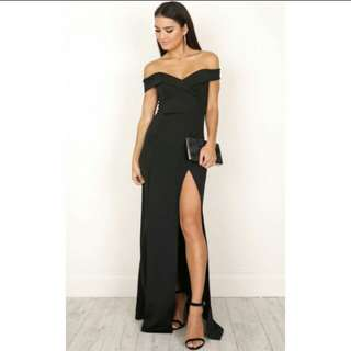 Women Gown Off Shoulder