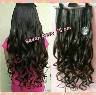 Hairclip big layer super curly