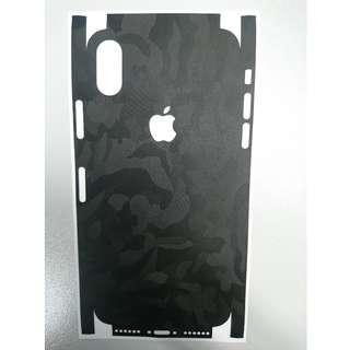 Dbrand iPhone X 底貼(包邊)with APPLE cutout