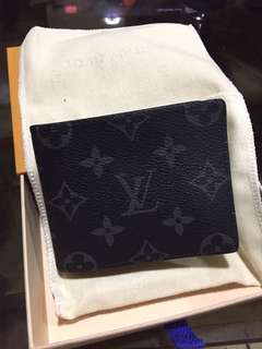 LV Louis Vuitton moneyclip wallet