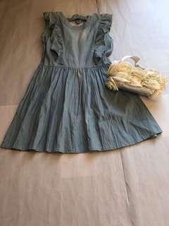 🚚 牛仔公主🎀甜美洋裝