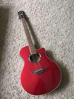 [Like New]Semi Acoustic Guitar
