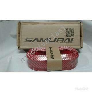 Multi Deflektor/Ducktail/ Lips bemper/ Rubber Skirt SAMURAI