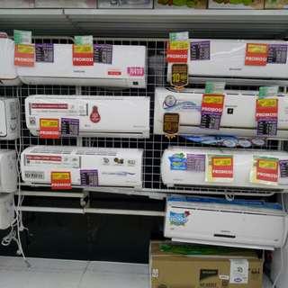 AC berbagai merk bisa di cicil cukup bayar 199.000