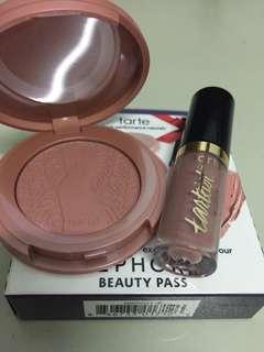Tarte Lip Paint + Blush