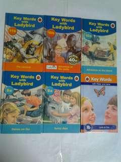 Ladybird Series - Key Words Series