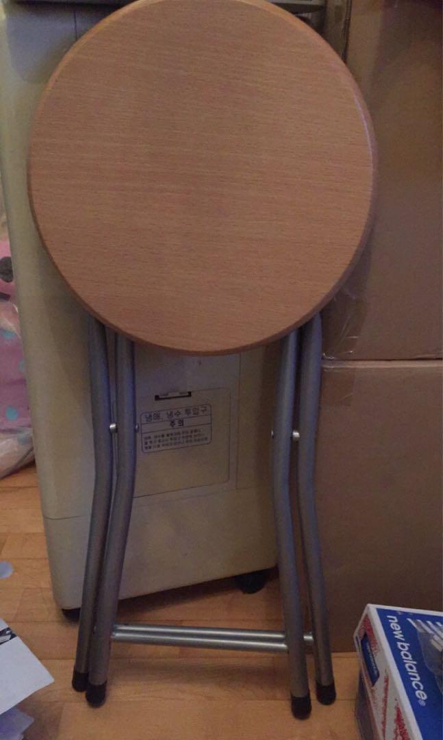 日本城摺椅4張,9成新