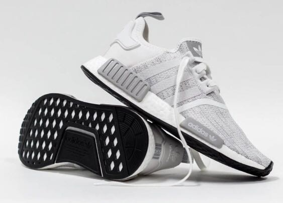 quality design 7d136 13be7 ... Adidas NMD R1 Blizzard Running White B79759, 女裝, 女裝鞋喺Carouse ...