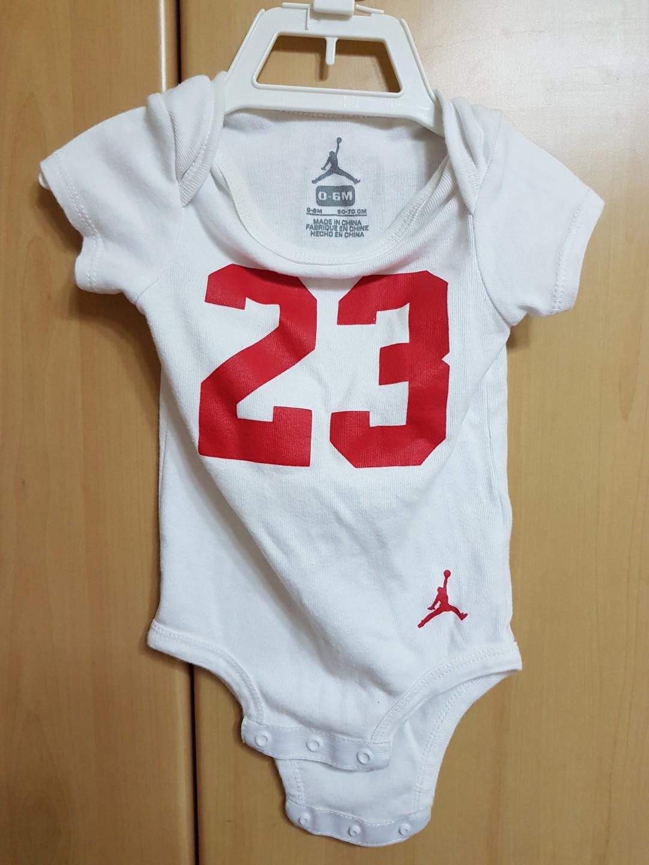 f37ca54b4 Baby Air Jordan romper and socks set, Babies & Kids, Babies Apparel ...