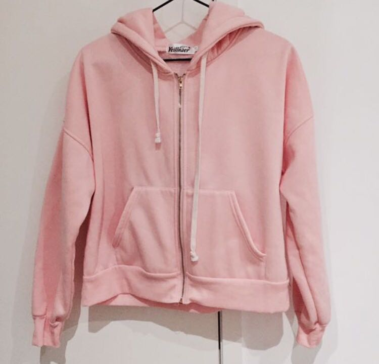 Baby Pink Hoodie - XS