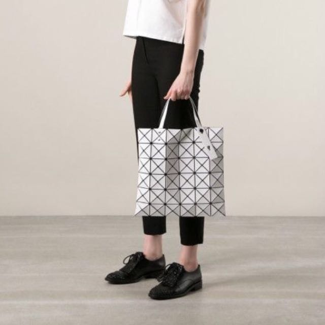 Bao Bao Issey Miyake Beige Lucent Tote Women S Fashion Bags Wallets On Carousell
