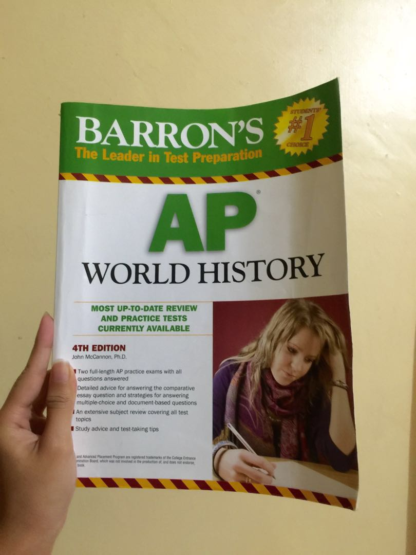 Barron's AP World History Reviewer on Carousell