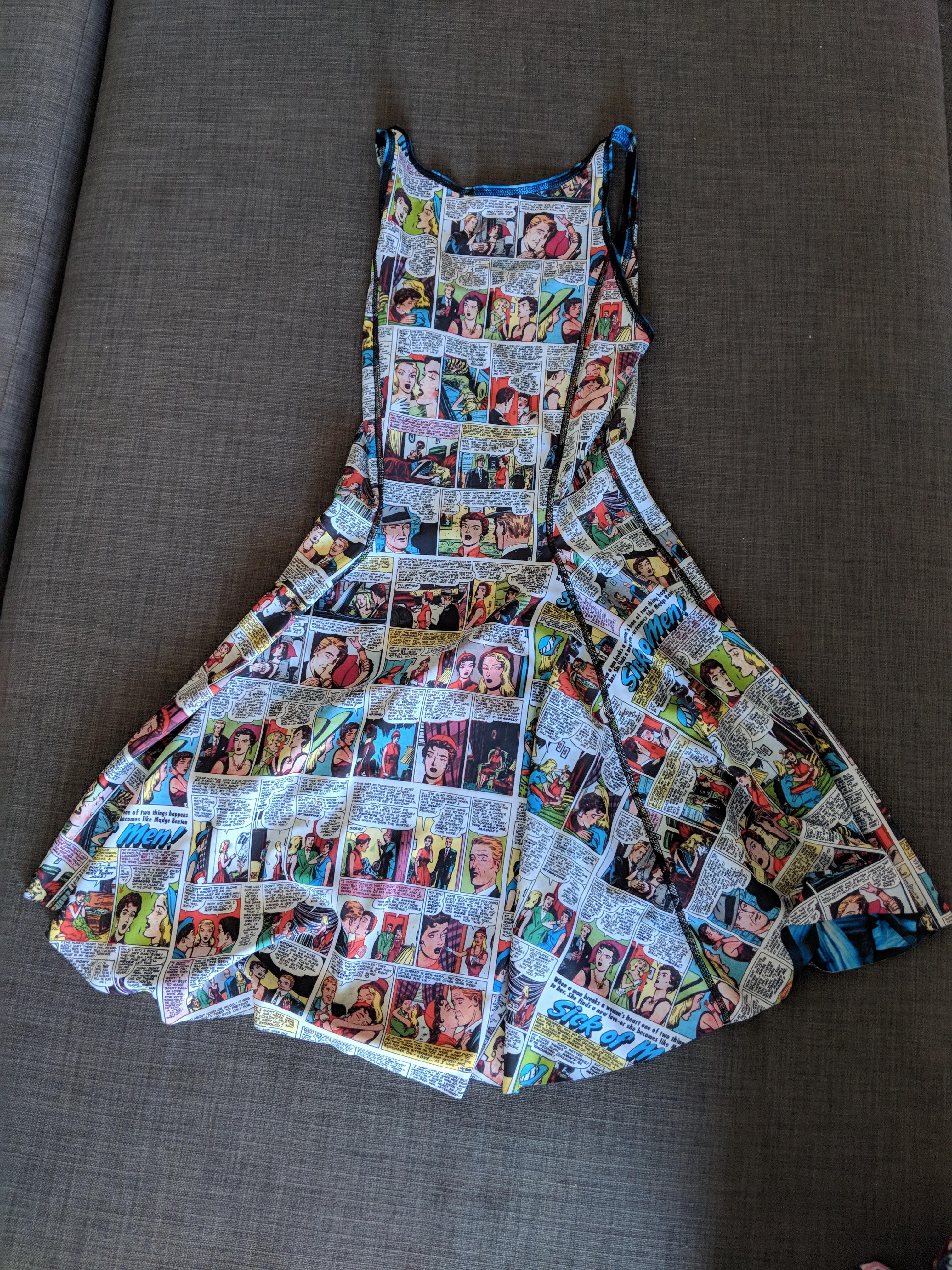 BNWOT Black Milk reversible Dress