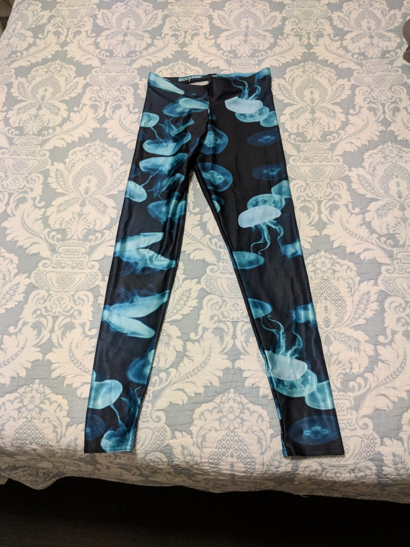 BNWT black mulk jellyfish leggings