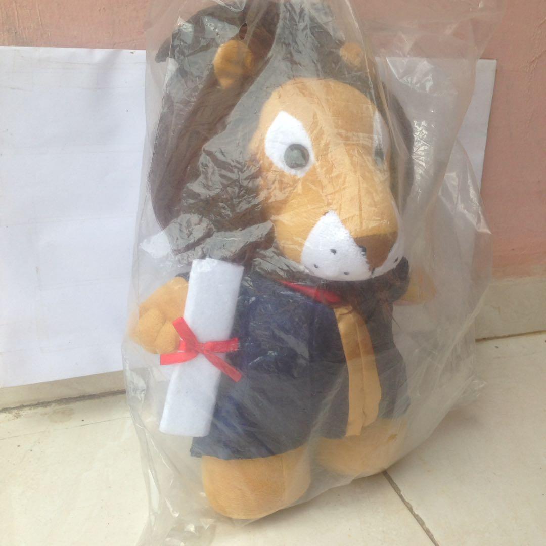 Boneka Import Singa Wisuda Toys Collectibles Toys On Carousell