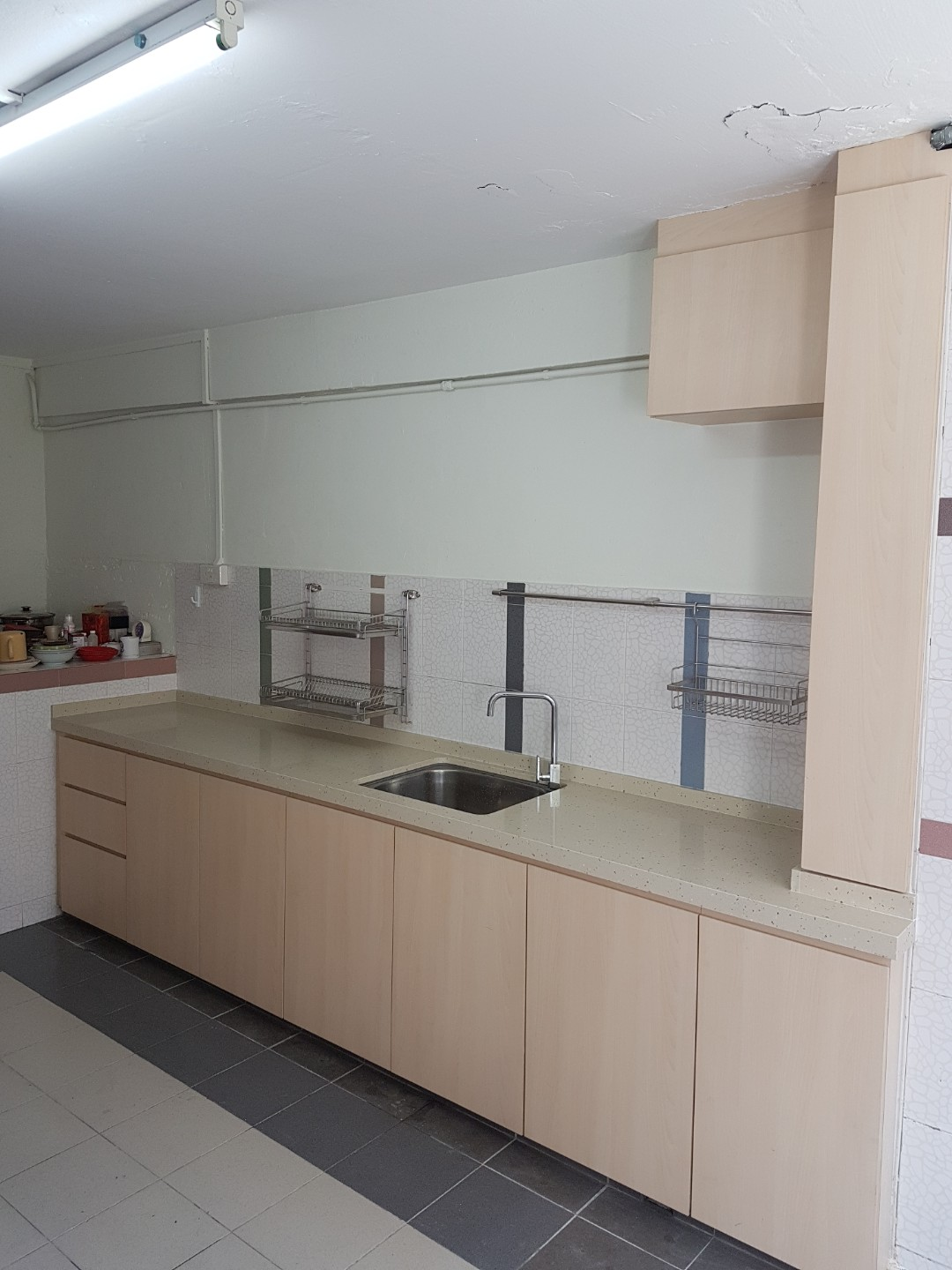 Carpenter customised kitchen cabinet, Furniture, Shelves & Drawers on Carousell