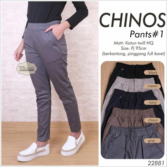 Chino Pants Ala Korea Style Olshop Fashion Olshop Wanita On Carousell