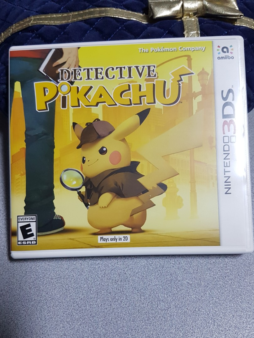Detective Pikachu 3ds Game Toys Games Video Gaming Video