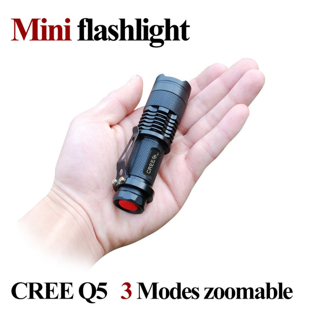 Flashlight Q5 Cree Ultra Portable Ultrafire SK68 3 Light