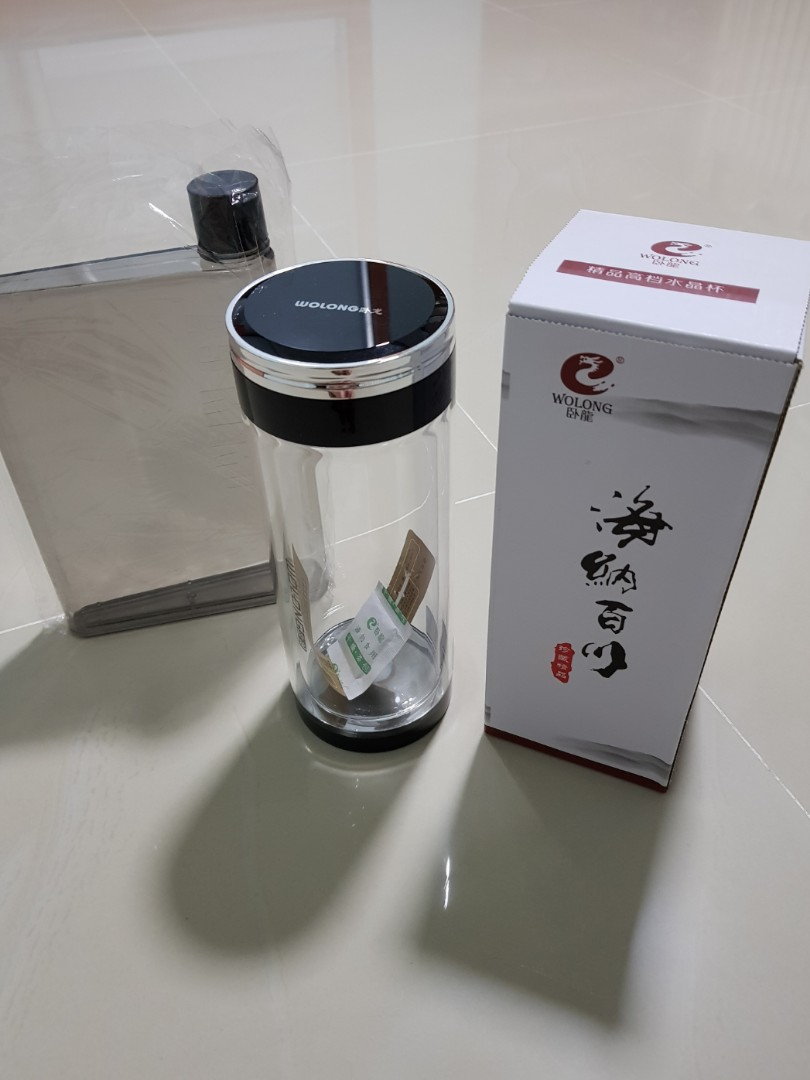 Free Water Bottle / Glass