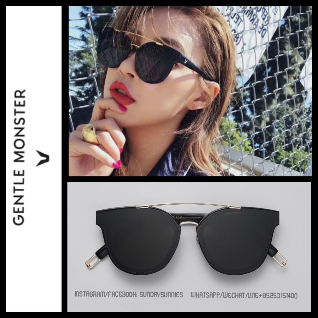 c685c981078 Gentle Monster x Tilda Swinton NewTonic Sunglasses 太陽眼鏡