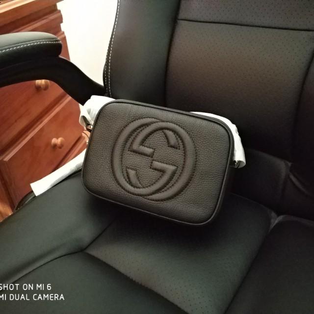 Gucci black bag Soho