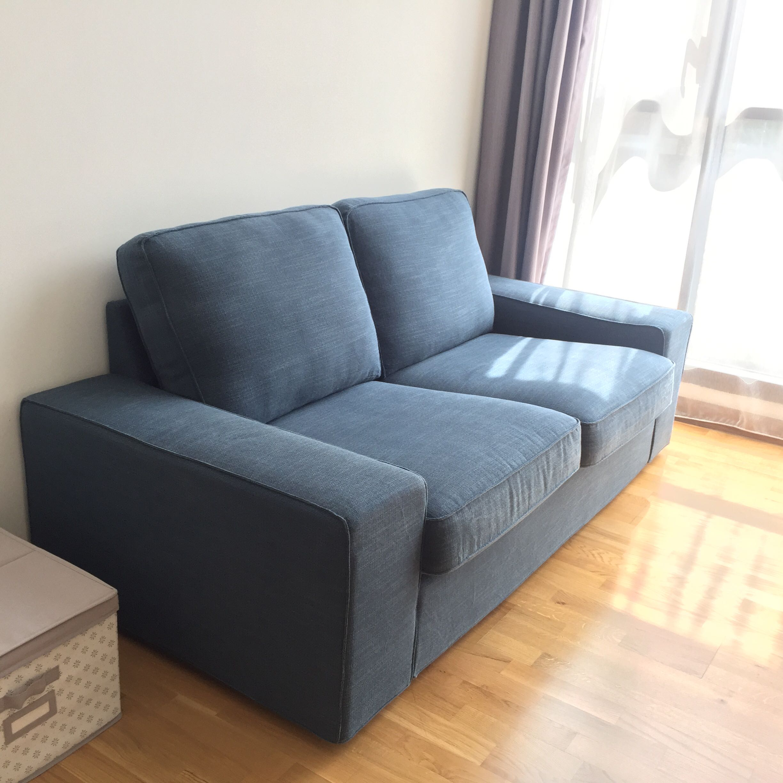 Ikea Kivik Sofa 2 Seater Home Furniture Furniture On Carousell