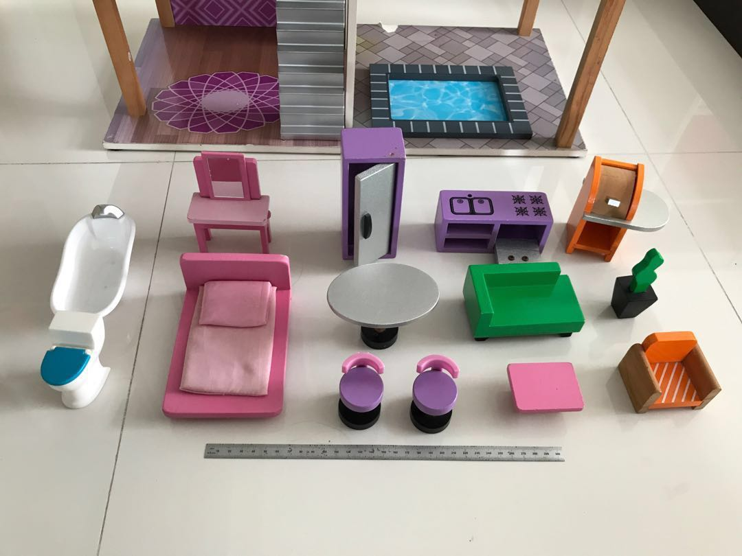 Kidkraft Dollhouse Furniture And Dollhouse Toys Games Bricks