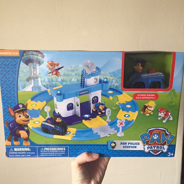 Last Set Paw Patrol Toy Set