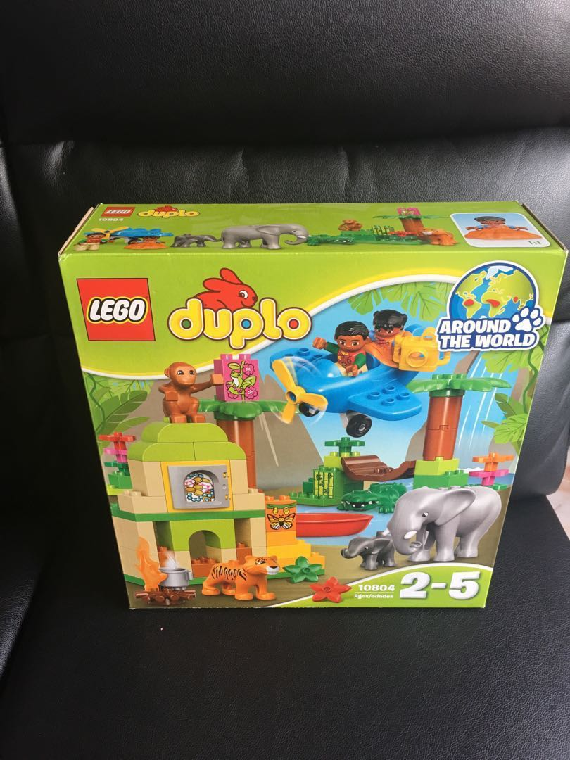 Lego Duplo Around The World Jungle Toys Games Bricks Figurines