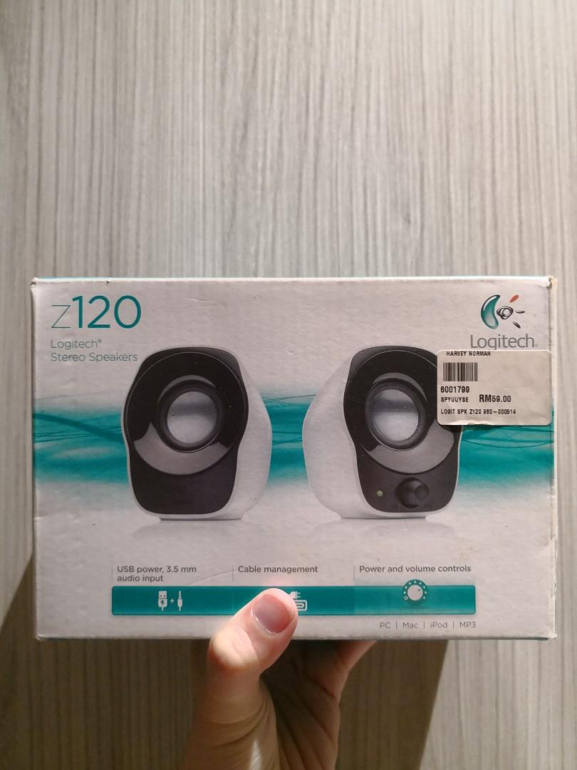 Logitech Speaker Z120 Daftar Harga Terlengkap Indonesia Stereo Speakers Mini Easy Controls Source Photo