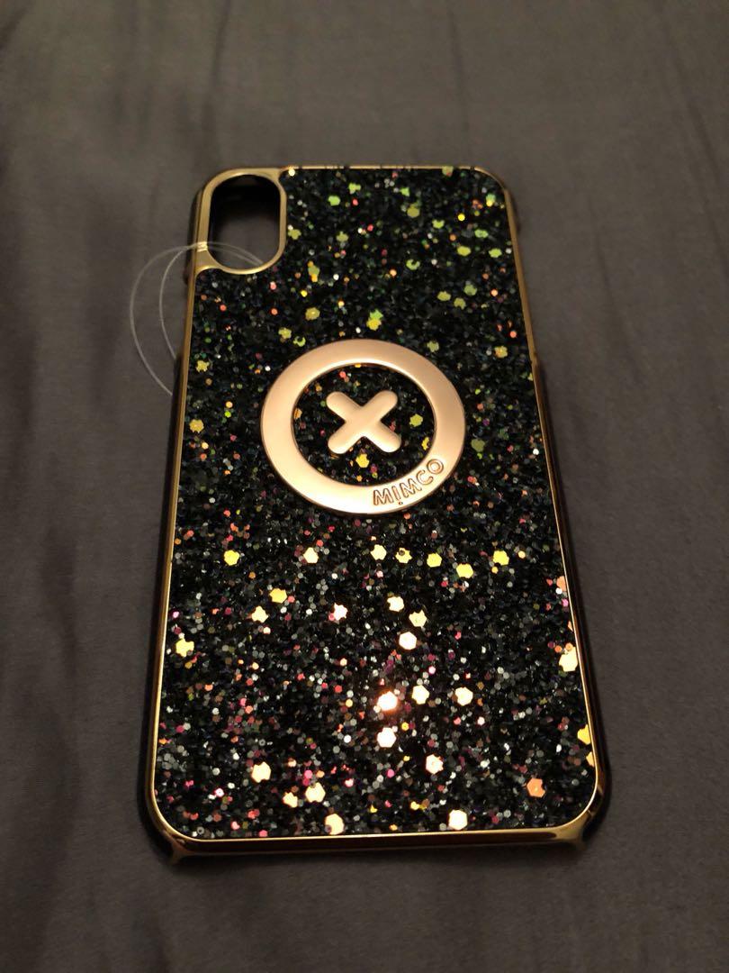 Mimco phone case iPhone X