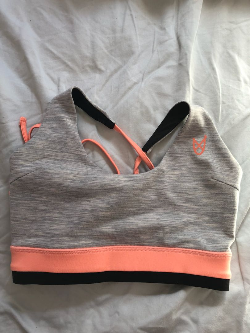 Mink pink gym crop