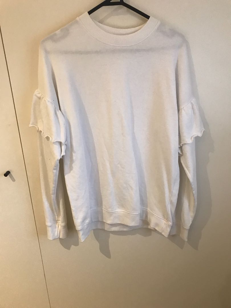 Missguided white jumper