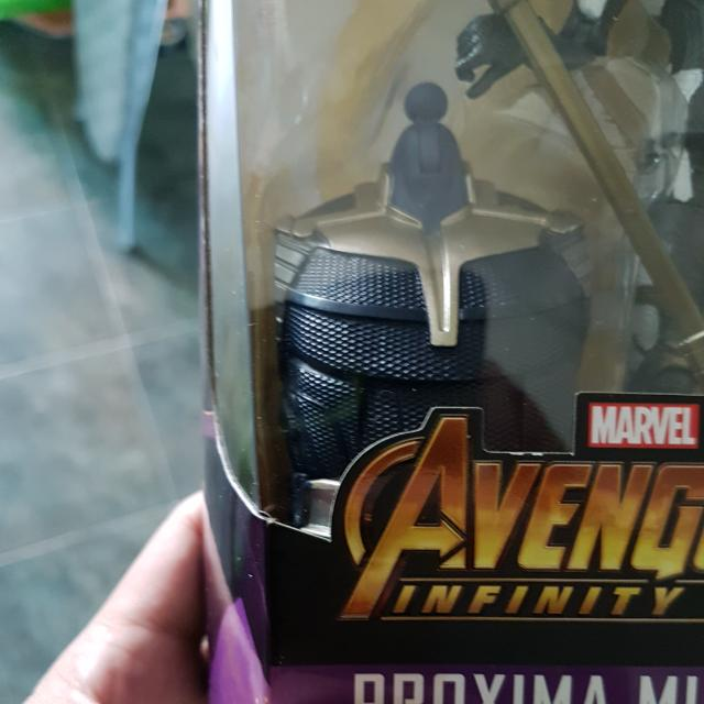 THANOS Marvel Legends BAF Proxima Midnight Torso Avengers Infinity War
