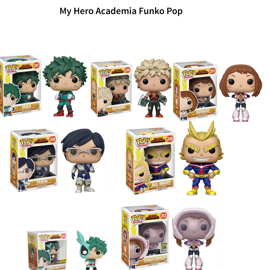 0e02f9661d3 My Hero Academia Funko Pop ft. All might
