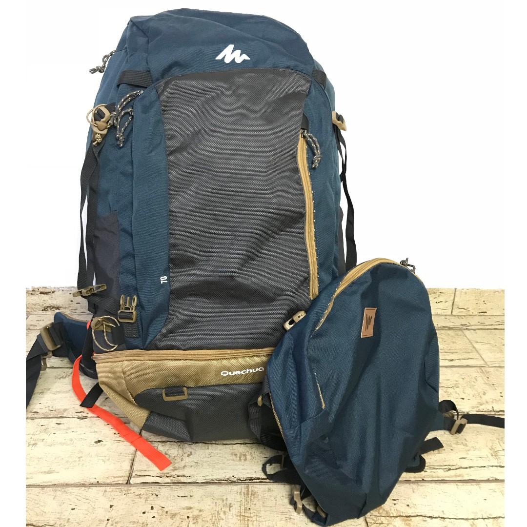 d44e38aaab NEW! Quechua Escape Hiking Lockable Backpack