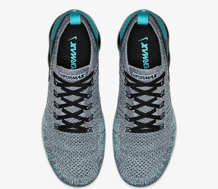 0c7d7885470 Nike Air Vapormax 2.0 Grey Turquoise