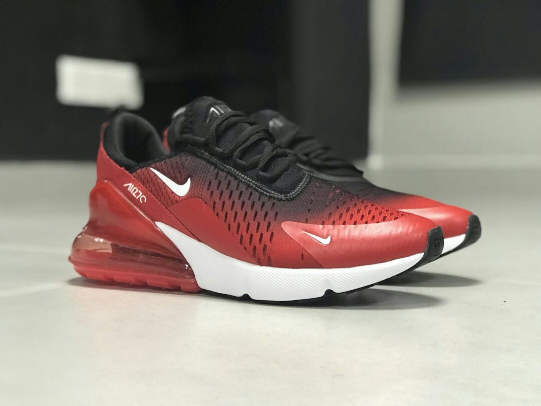 low priced 634df 07bcf Nike AIRMAX 270 RED BLACK