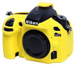 Nikon D600/D610 silicon easy cover yellow colour