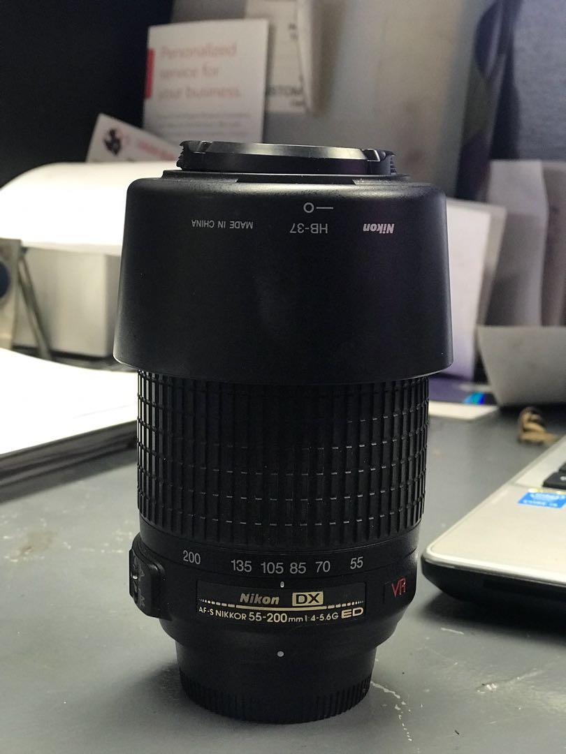 NIKON DX 55-200mm AF-S 1:4-5.6g ED